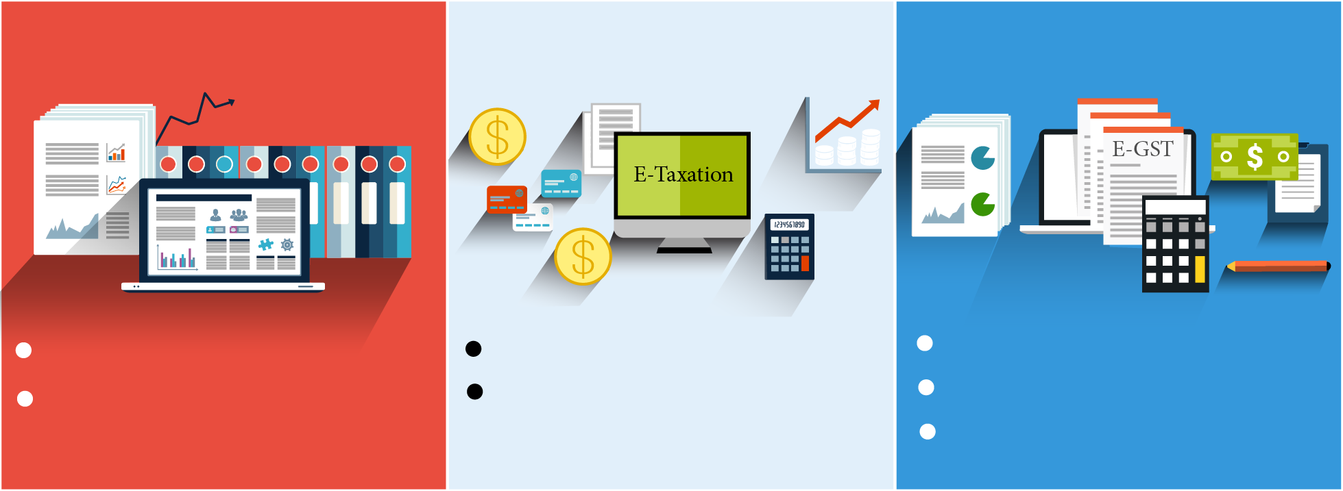 E-Accounts E-Taxation E-GST Training in Delhi