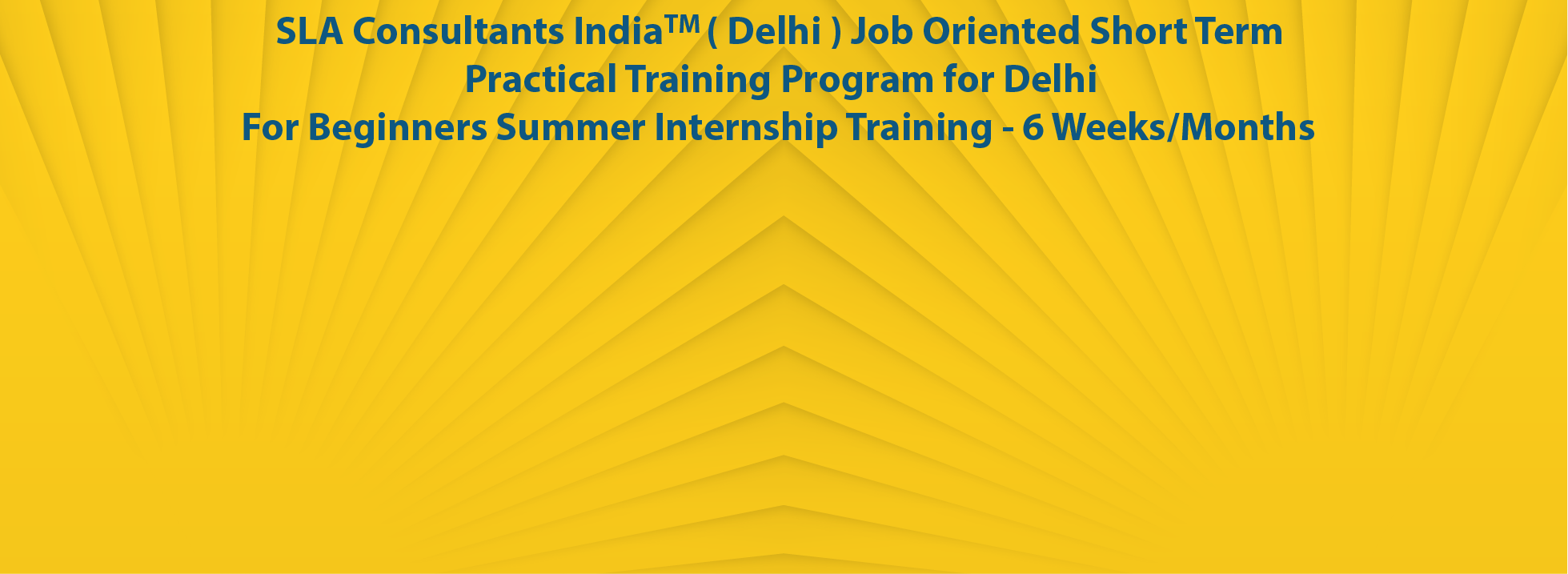 Internship Training in Delhi